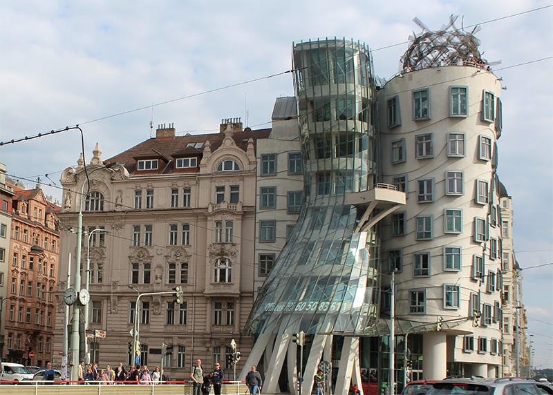 Prag und das tanzende Haus
