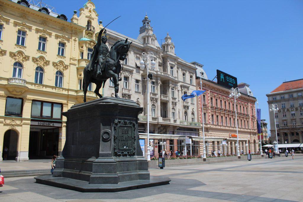 Ban Jelacic Platz in Zagreb