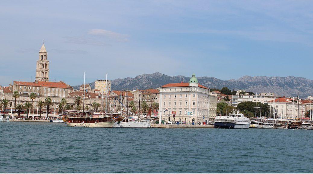 Trogir - Panorama Blick