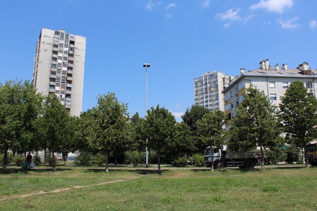 Zagreb Hochhäuser