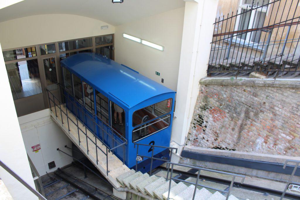 Zahnradbahn in Zagreb