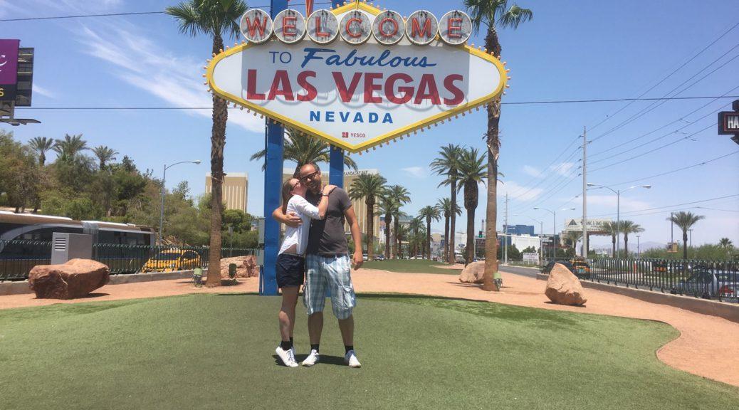 Las Vegas Schild - Die bekannteste Sehenswürdigkeit