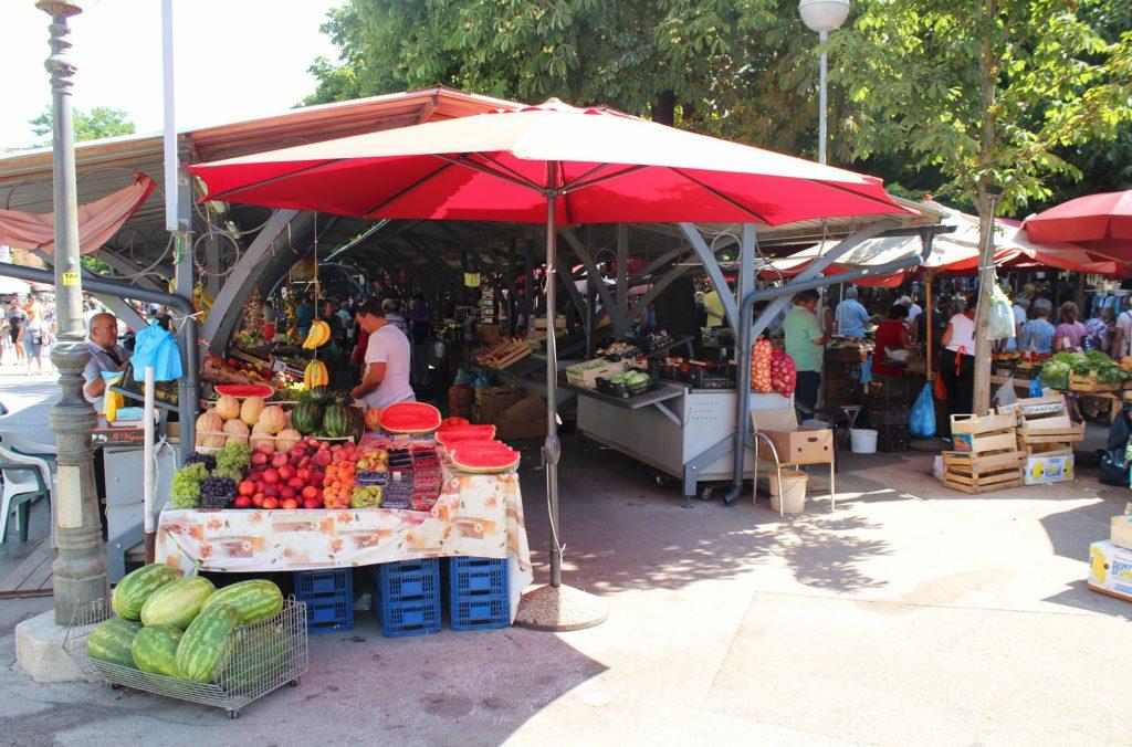 Markt in Pula