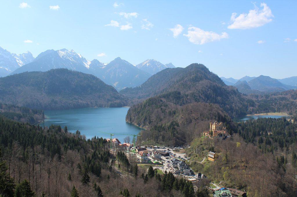 Schloß Neuschwanstein - Alpsee und Schwansee