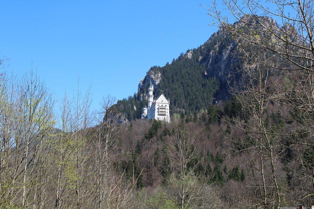 Schloß Neuschwanstein - Größe