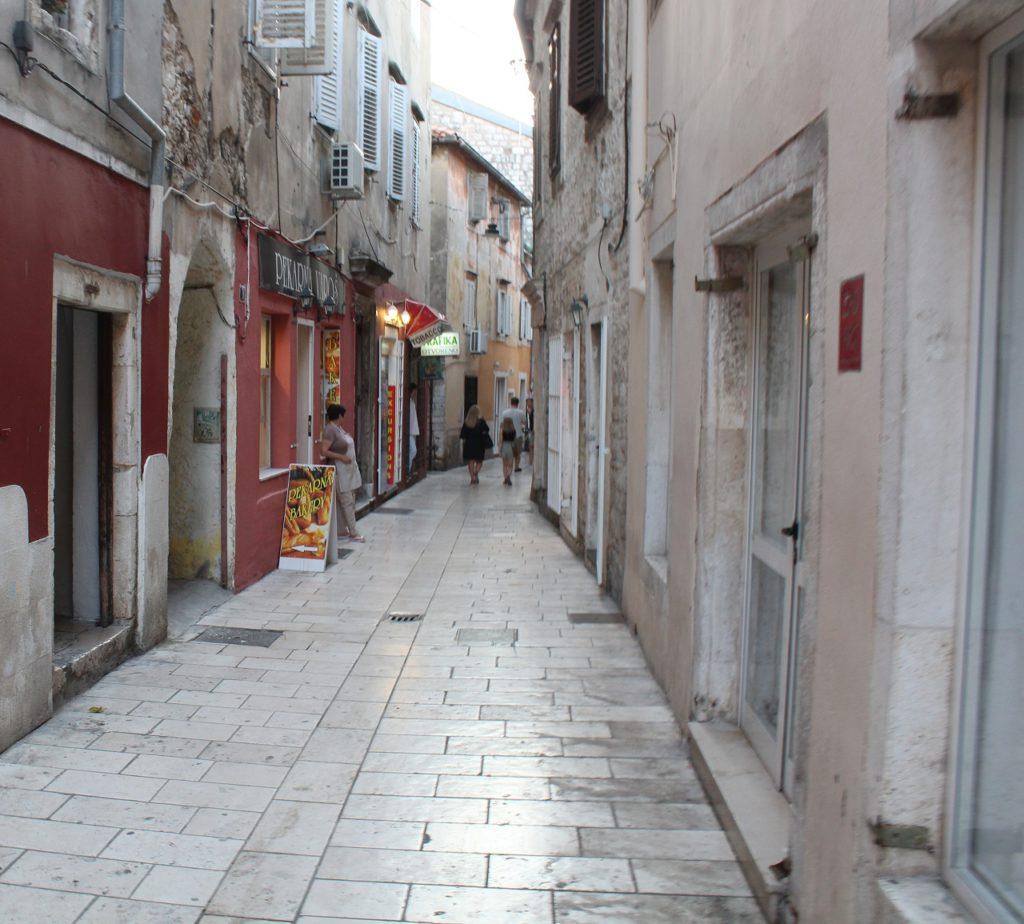 Seitengasse in Zadar