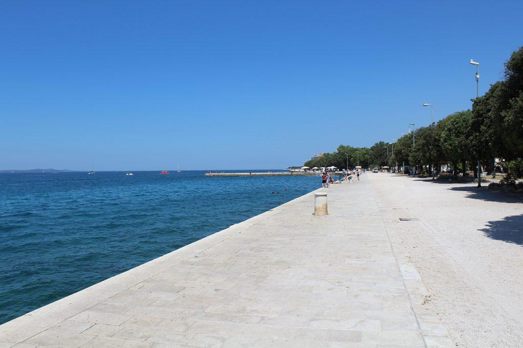 Strand in Zadar
