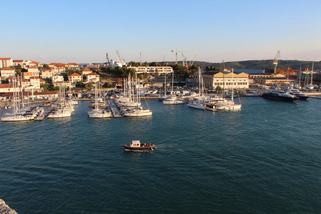 Yachthafen von Trogir