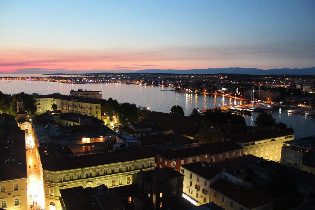 Zadar von oben