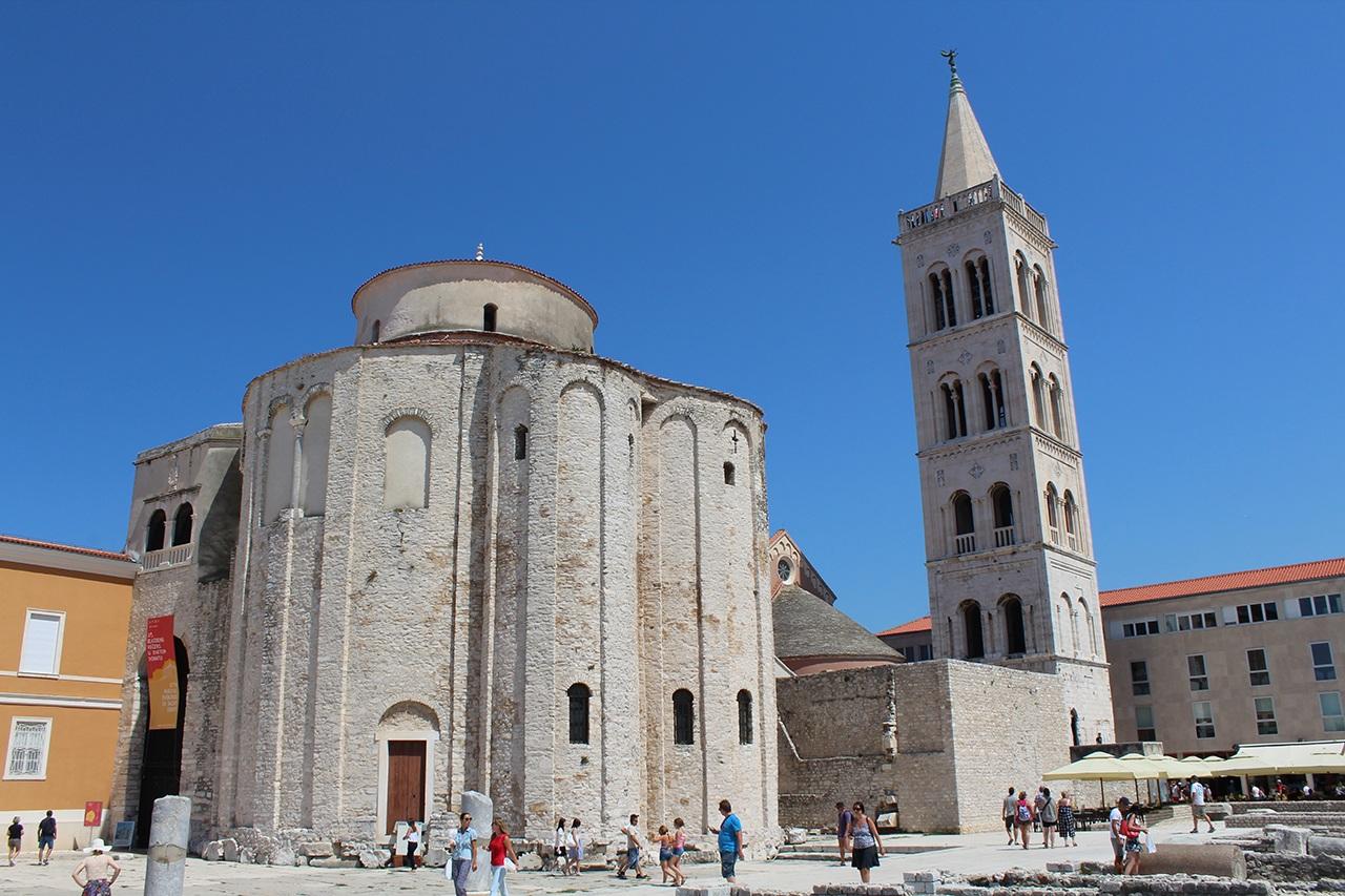 Zadar - Die Kirche Sv. Dona