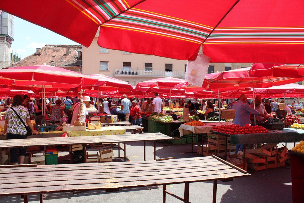 Öffnungszeiten - Dolac Market in Zagreb