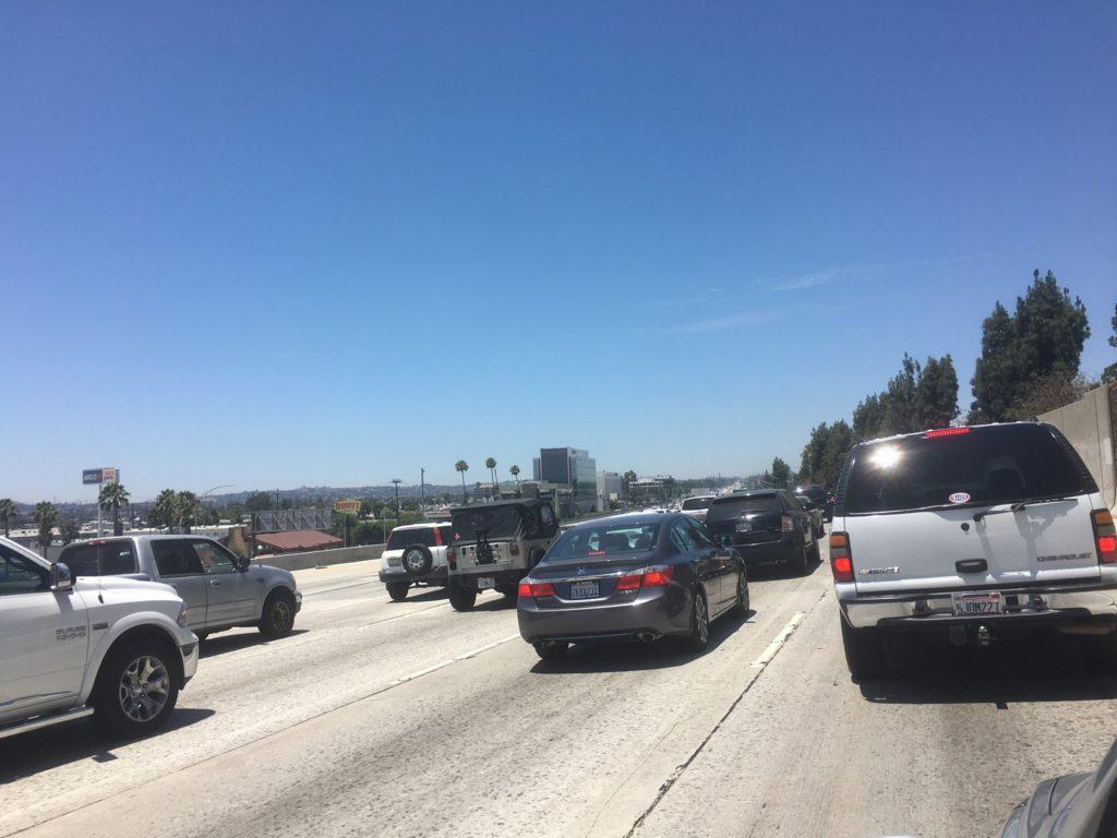 Autofahrt - San Francisco nach L.A.