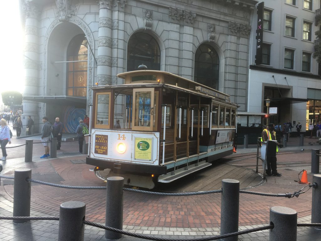 Cable Car - Powell Street