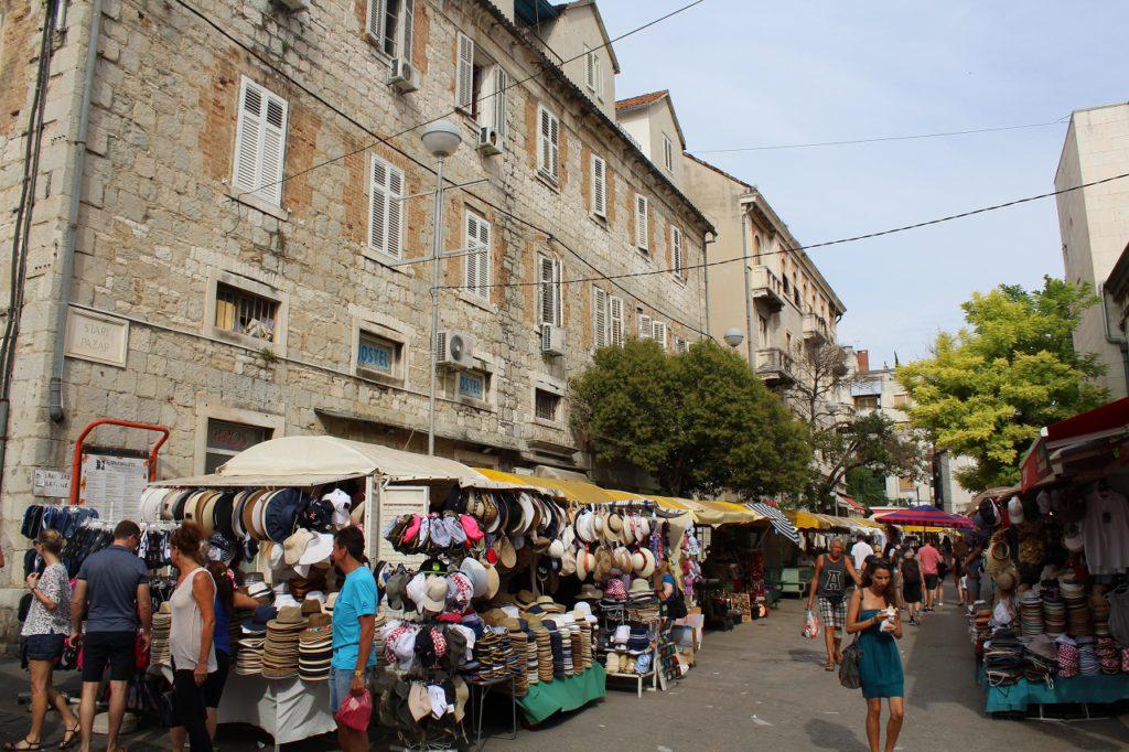 Die Innenstadt von Split