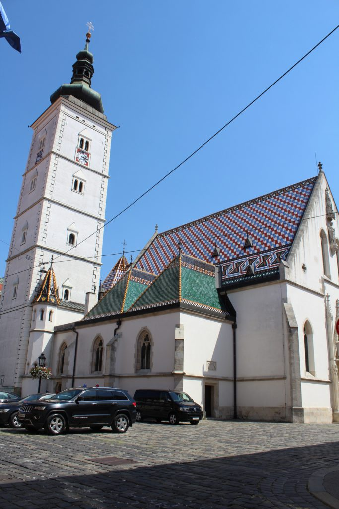 Rückseite - St. Markus Kirche