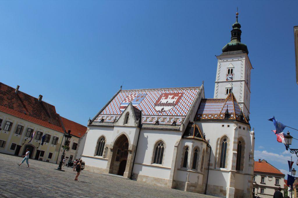 Zagreb - St. Markus Kirche