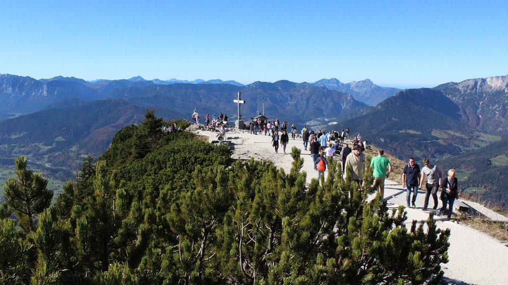 Gipfelkreuz am Kehlstein