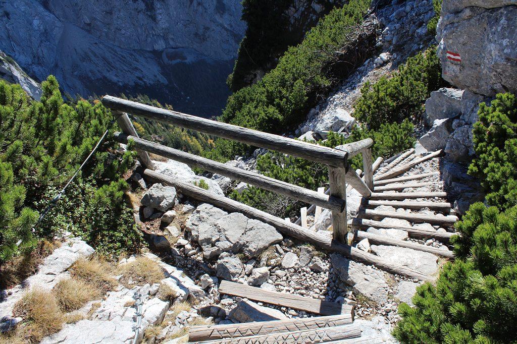 Kehlstein Rundweg - Stufen