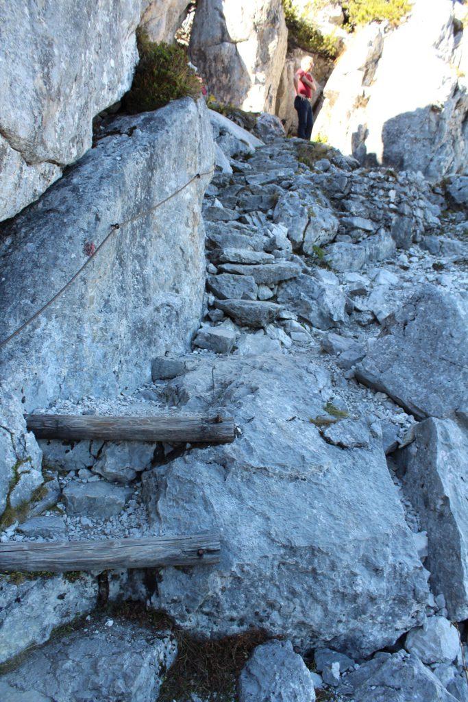 Kehlstein Rundweg - Treppe