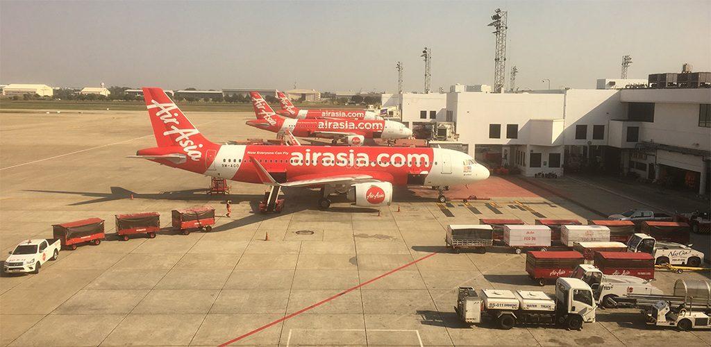 AirAsia - Flugzeuge