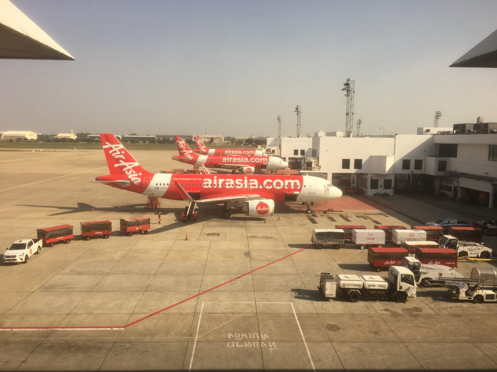 AirAsia Flugzeuge