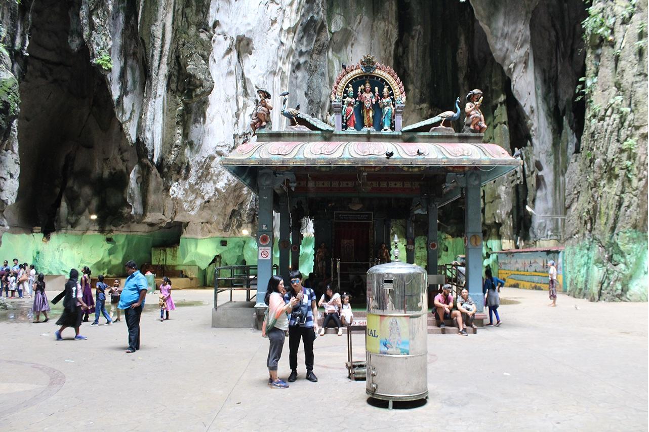 Batu Caves - Tempel im Tempel
