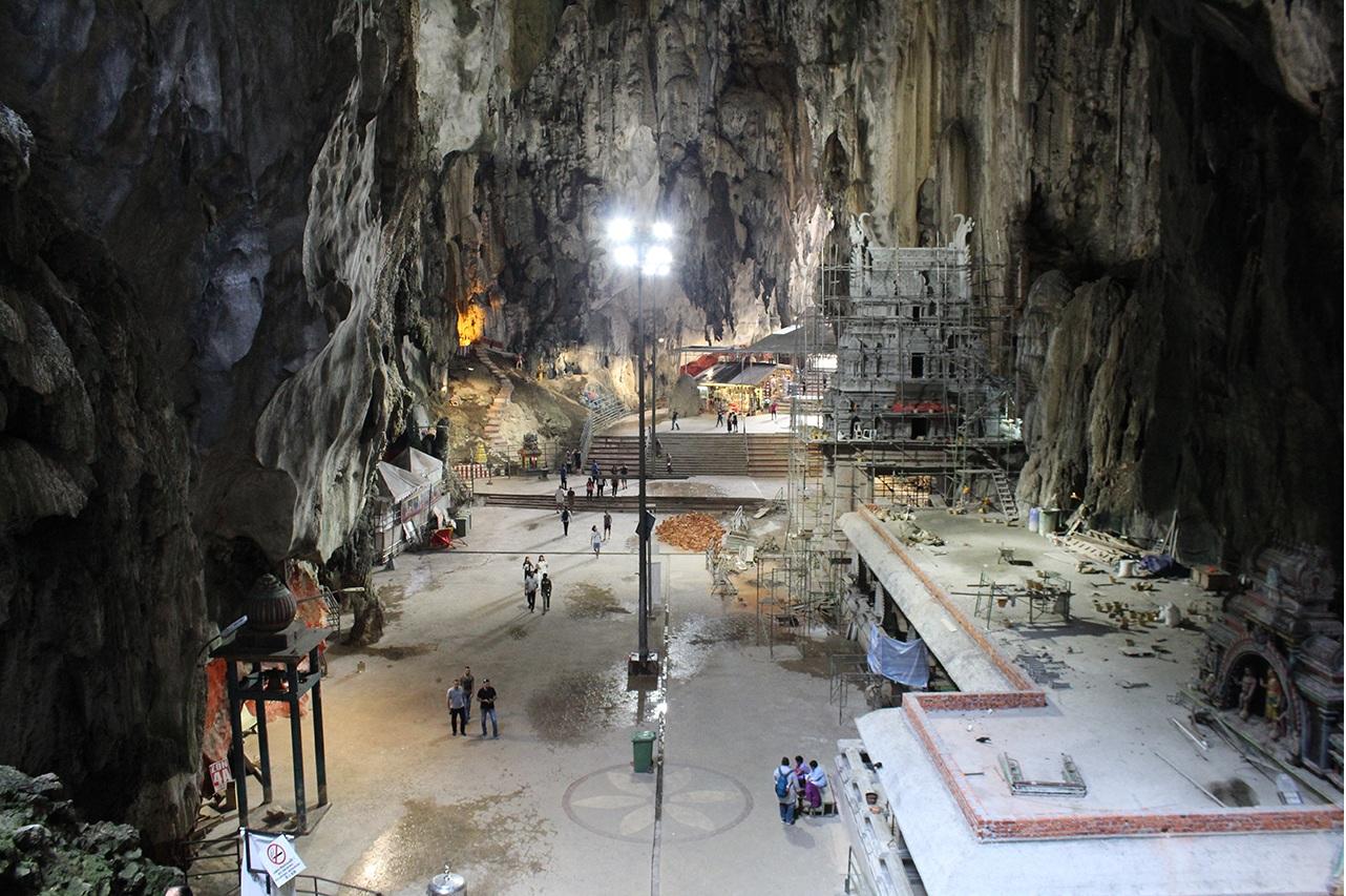 Batu Caves von Innen