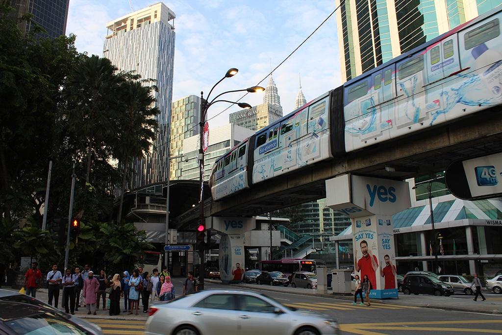 Bukit Bintang tagsüber