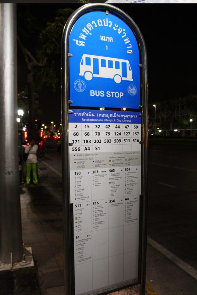 Bus 171 zum Nachtmarkt