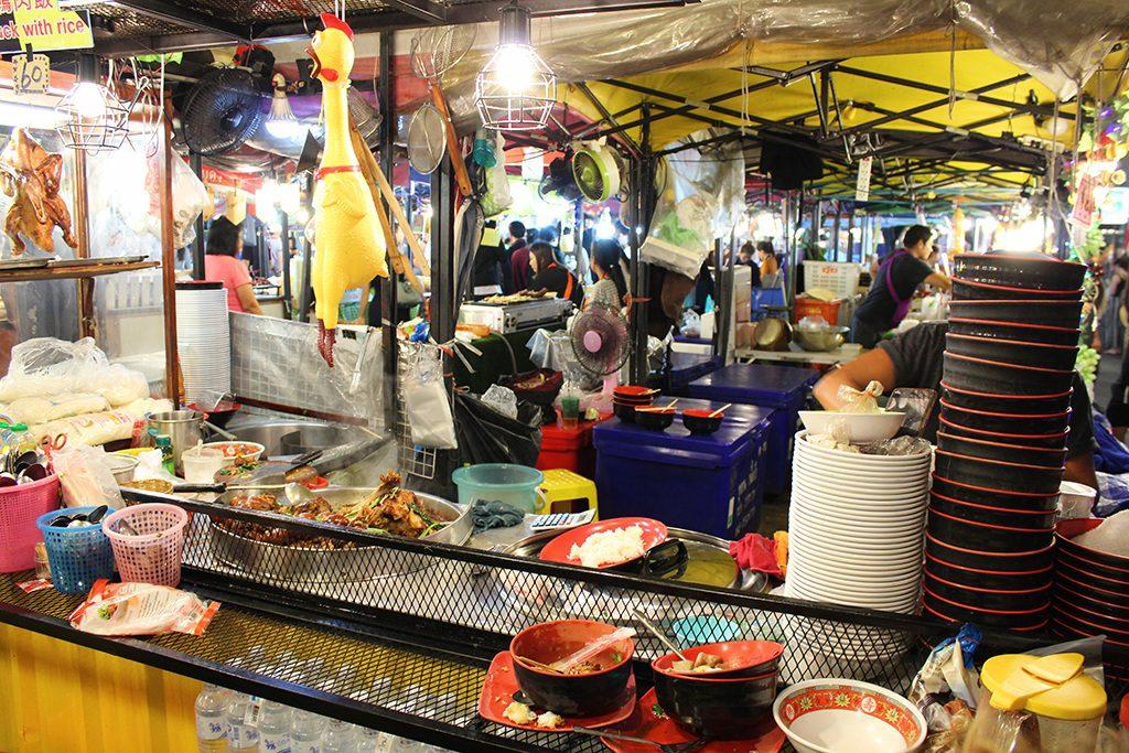 Garküchen - Talad Rot Fai Ratchada Nachtmarkt