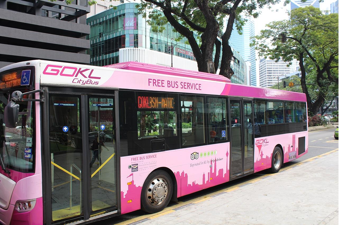Gratis Busse in Kuala Lumpur