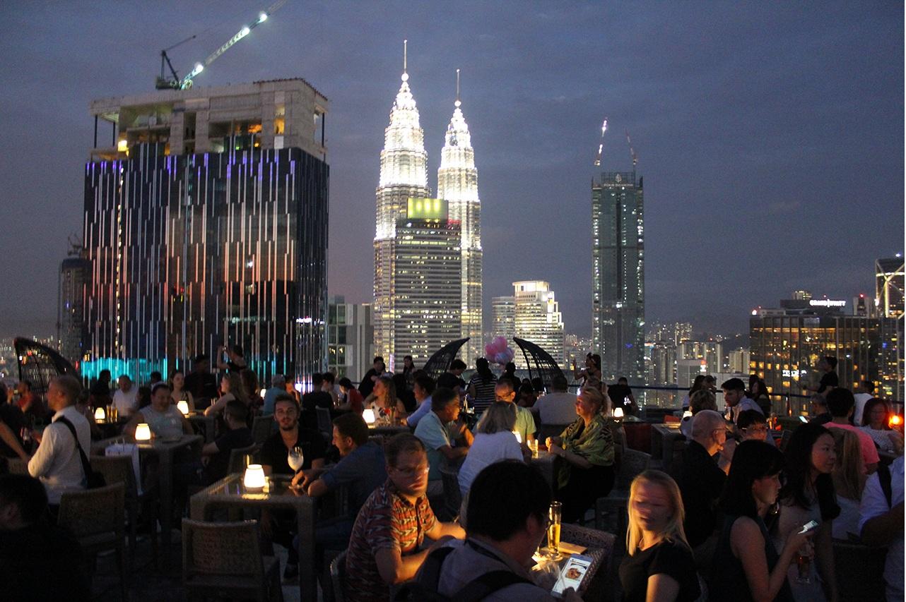 Heli Lounge Bar - Kuala Lumpur