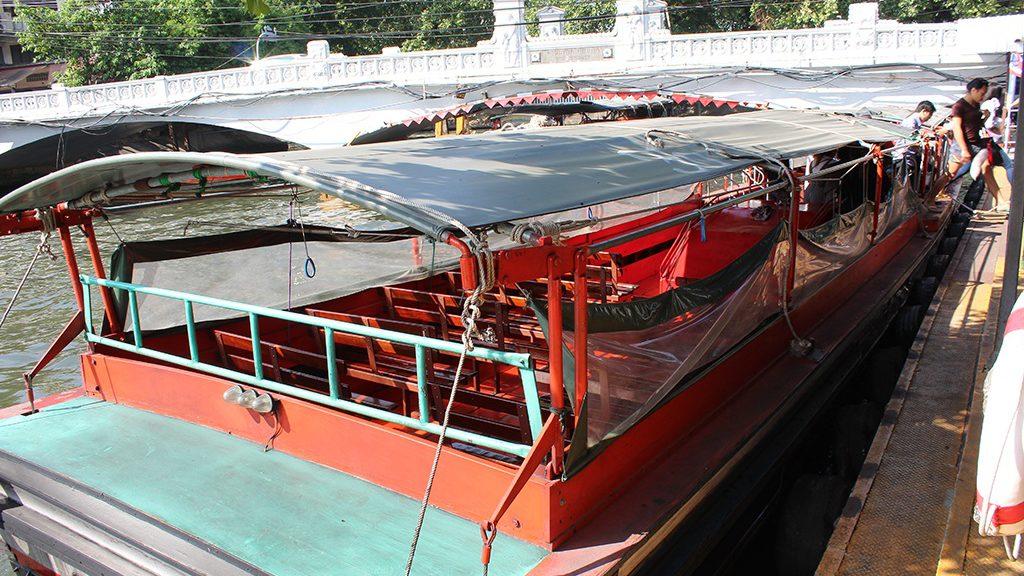 Khlong Boat in Thailand