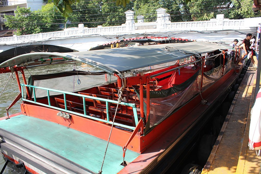 Khlong Boat in Thailand