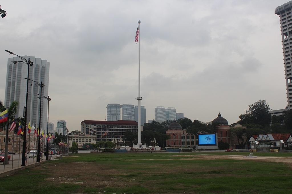 Merdeka Square - Flagge