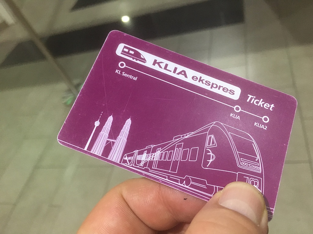 Ticket - KLIA Ekspres
