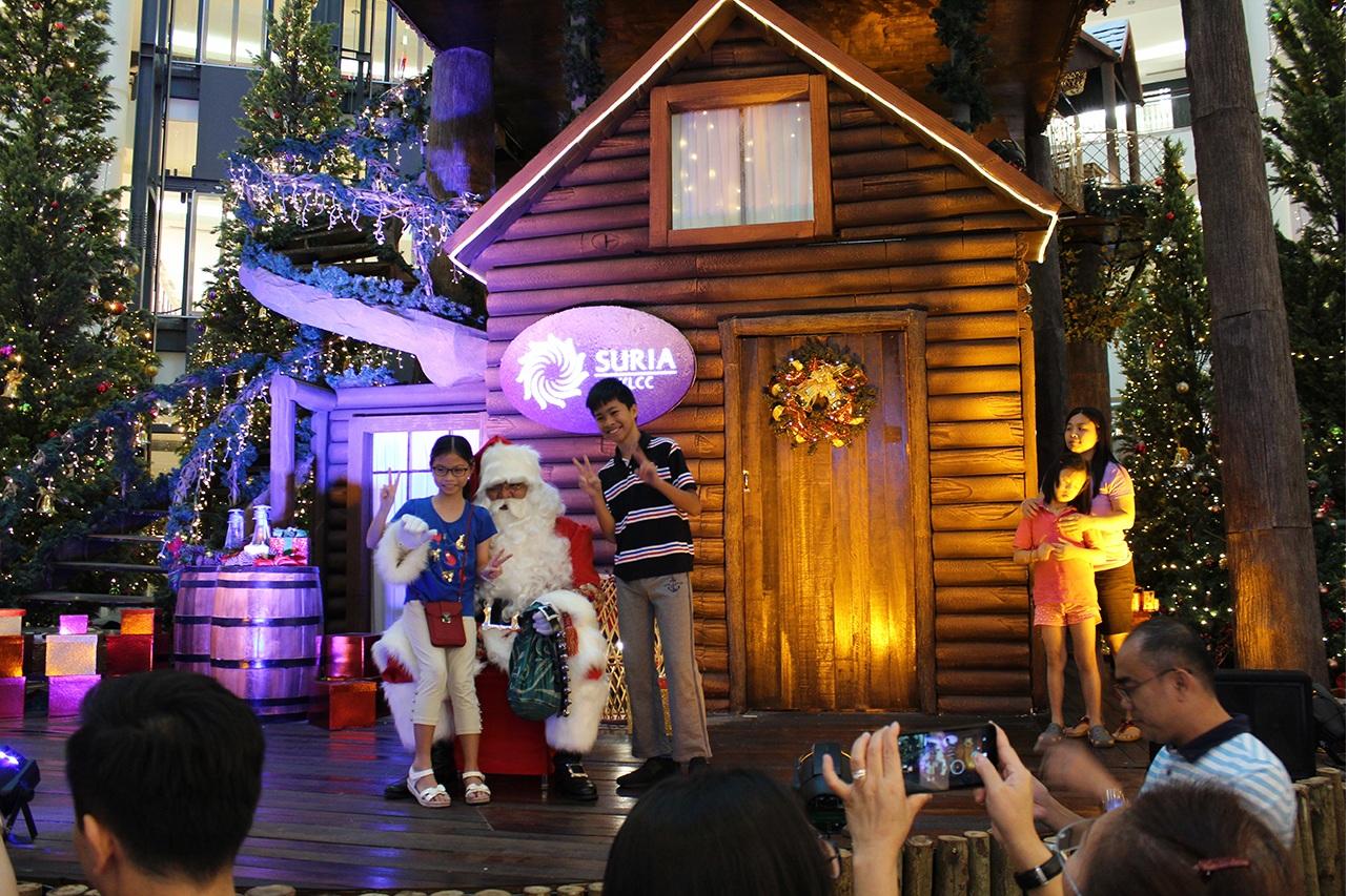 Weihnachten im Suria KLCC