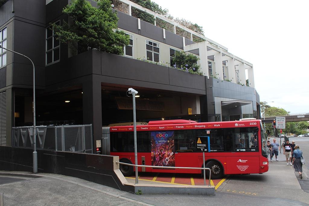 Bus zum Bondi Beach