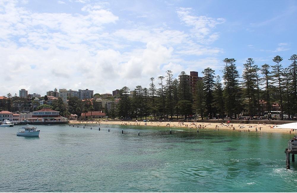 Der falsche Manly Beach