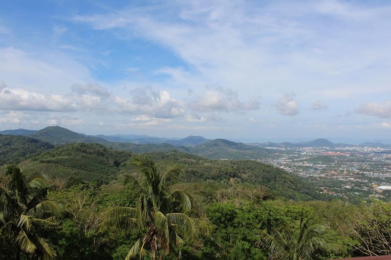 Blick auf Phuket vom Big Buddha