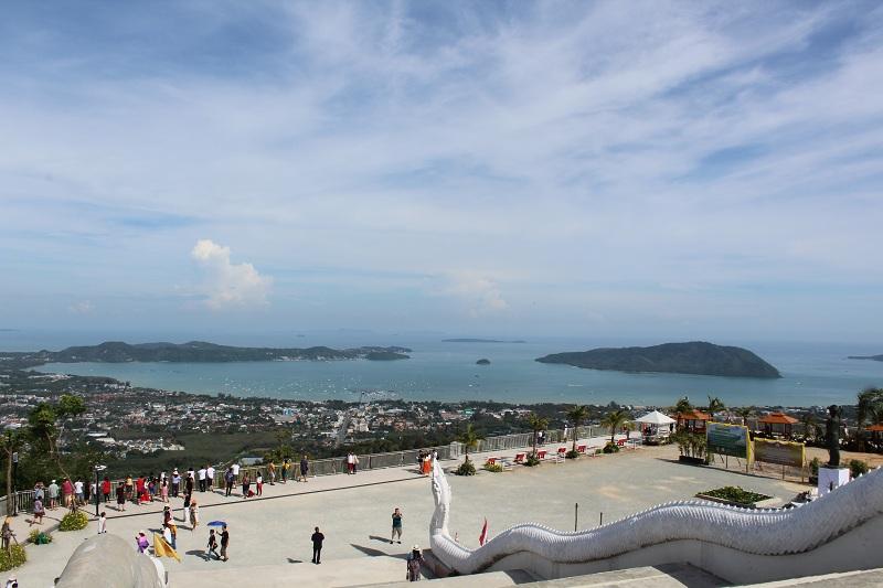 Blick auf die Inseln vom Big Buddha