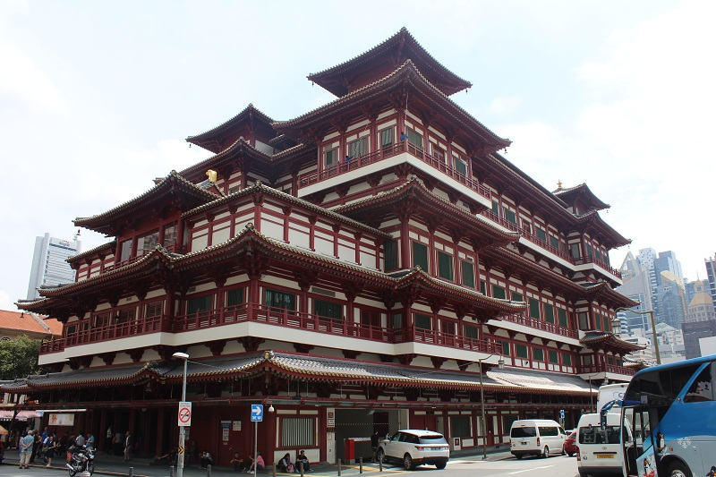 Buddha Tooth Relic Temple - Singapur