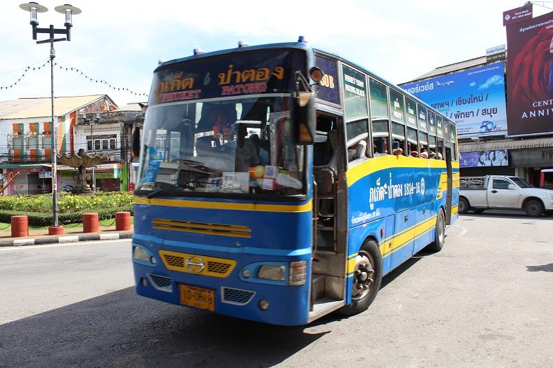 Bus - Patong nach Phuket