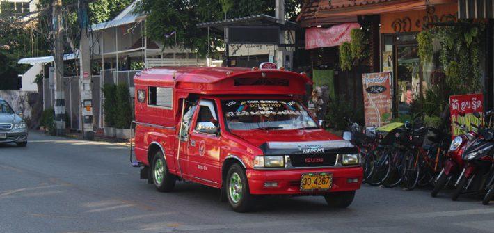 Chiang Mai - Rotes Taxi