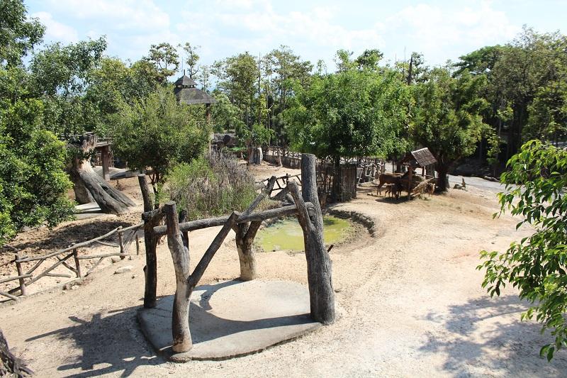 Chiang Mai Zoo - Gehege