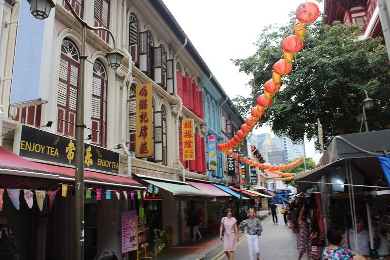 Chinatown in Singapur