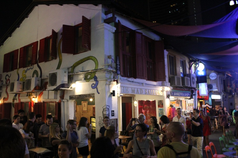 Haji Lane in Singapur
