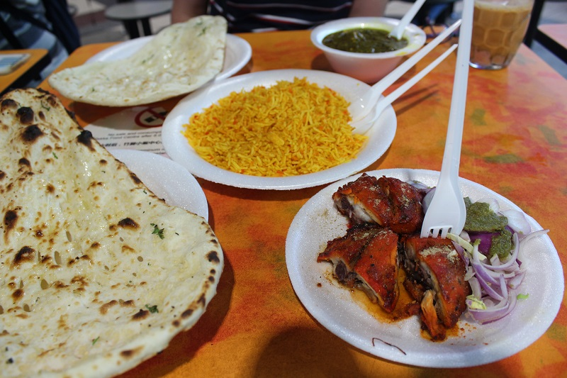 Indische Küche in Singapur