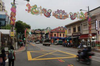 Little India in Singapur