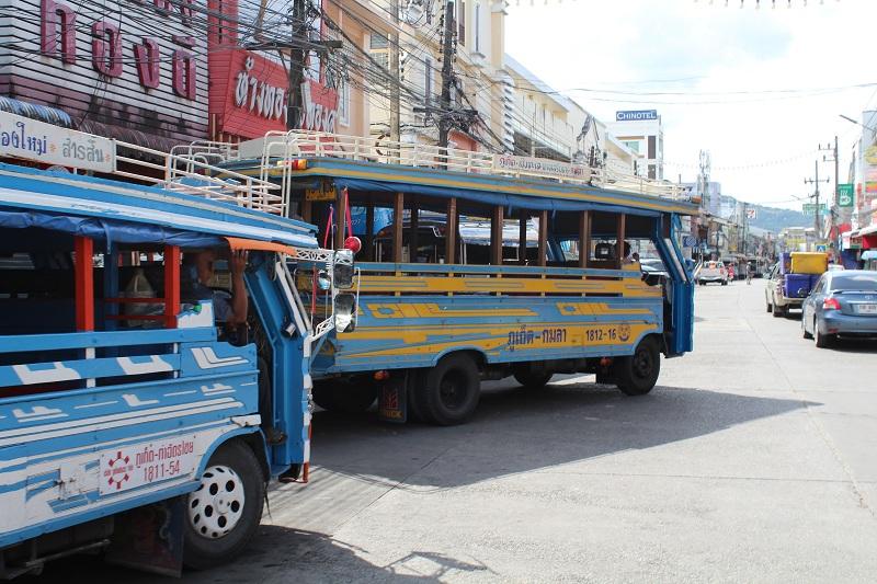Phuket Altstadt - Bushaltestelle